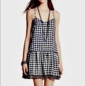 Princess Vera Wang Gingham Mini Sheath Dress 0628
